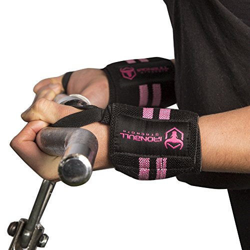 Women Wrist Wraps with Thumb Loops - 12