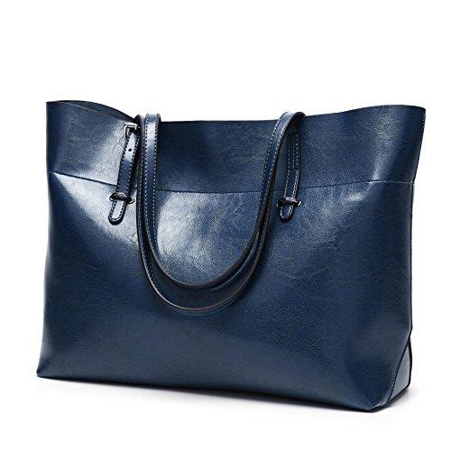 handbag Ladies Bleu foncé large shoulder Pack bag Single Pack Pipulade wB1Zqz