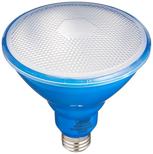 Feit Electric PAR38/B/10KLED PAR38 Non-Dimmable LED Light Bulb , Blue, Pack of 1