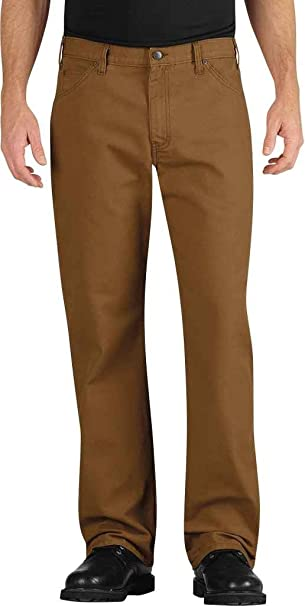 7f62231b99f01 Dickies Men's Industrial Relaxed Fit Straight Leg Carpenter Duck Jeans at  Amazon Men's Clothing store: