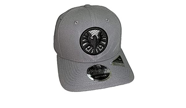 a8f80834124 Captain Marvel Movie SHIELD New Era 9Fifty Storm Gray Snapback Cap Hat at  Amazon Men s Clothing store