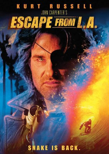 Escape From L.A. Poster Movie 1996 Style C