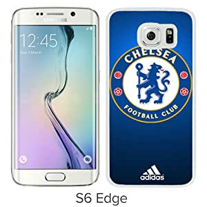 Unique Samsung Galaxy S6 Edge Screen Case ,Popular And Durable Designed Case With Chelsea 14 White Samsung Galaxy S6 Edge High Quality Phone Case