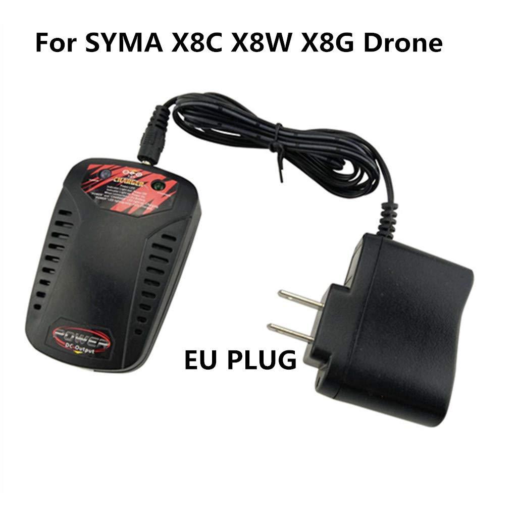 TwoCC Cargador de batería para conector Syma X8C X8W X8G Rc Drone ...