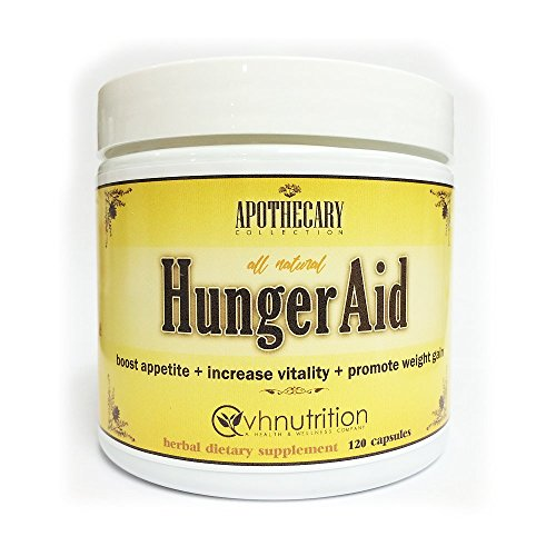 HungerAid Weight Gain Pills for Men & Women Appetite Stimulant | Natural Orxegenic Supplement