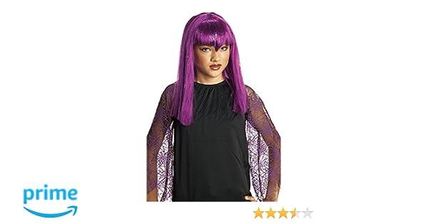Rubies Disfraz Infantil - Peluca Vampiresa Traviesa Lila: Amazon.es: Juguetes y juegos