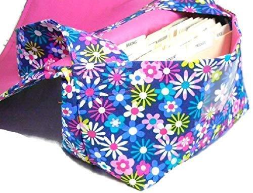 Coupon Organizer Holder Bag Happy Floral Mega Large