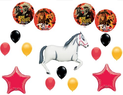 (LONE RANGER and TONTO Happy Birthday PARTY Balloons Decorations Supplies by Anagram)