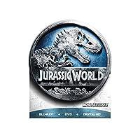 Jurassic World Limited Edition Packaging (Round Tin) [Blu-ray + DVD + Digital HD] (Bilingual)