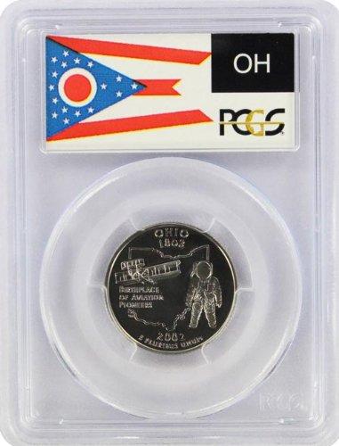 2002 Ohio State S Clad Proof Quarter PR-69 PCGS