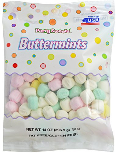 d Pastel Buttermints, 14 Ounce, Appx. 100 pieces from Hospitality Mints (After Dinner Candy)