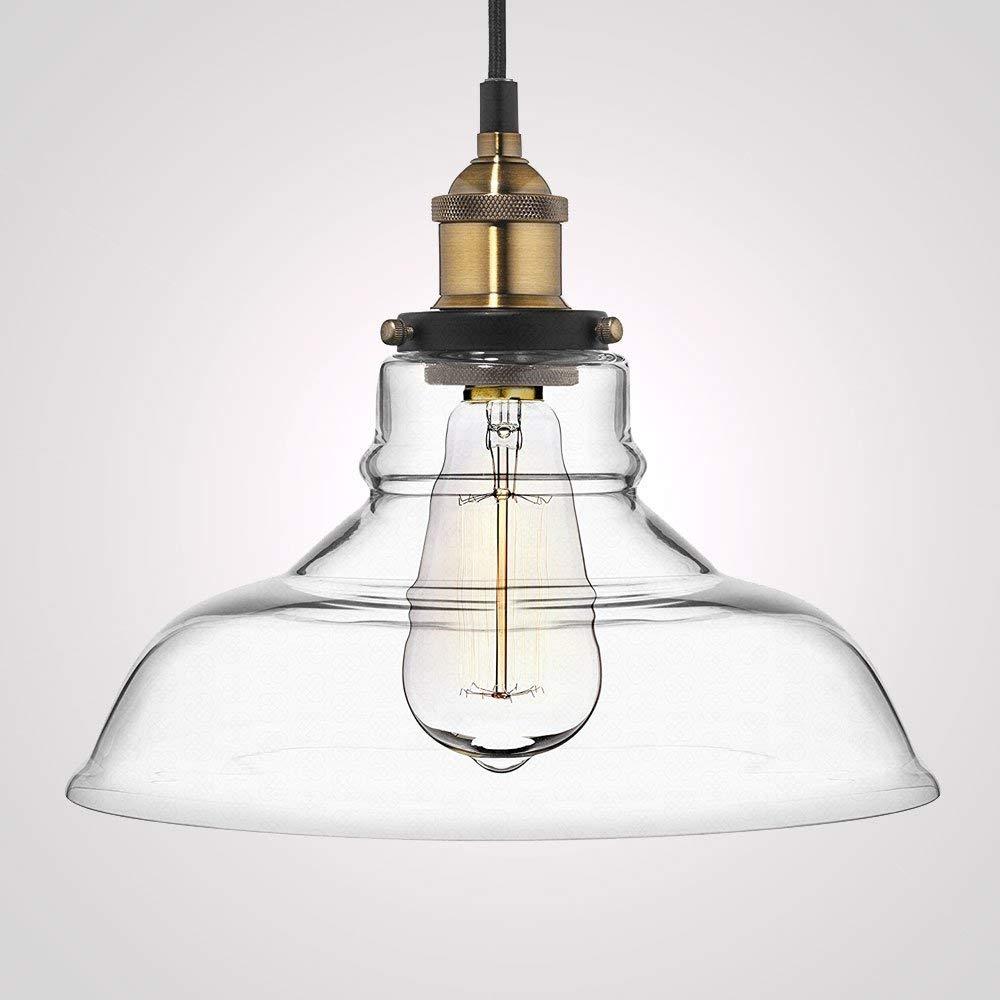 Frideko vintage pendant light retro industrial ball glass light fitting for home office bedroom coffee shop ceiling light 1 pc