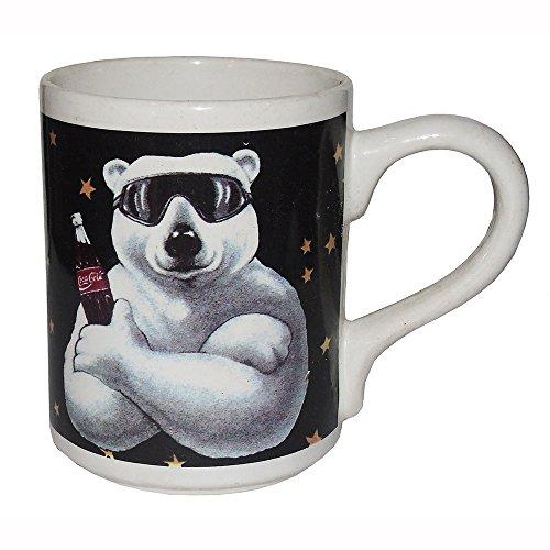 Coca-Cola Polar Bear with Shades Ceramic Mug 16 - Sunglasses Coca Cola