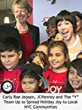 Carly Rae Jepsen, JCPenney and The Y Team Up to Spread Holiday Joy to Local NYC Communities