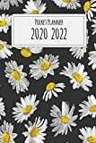 2020-2022 Pocket Planner: Vintage Daisy, Three Year Calendar, 36-Month Pocket Monthly Agenda Planner with Holiday