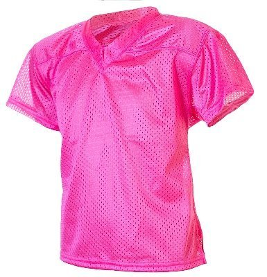 496d075d9fa Buy Youth Girls Neon Pink Mesh Football Jersey-SMALL Online at Low Prices  in India - Amazon.in