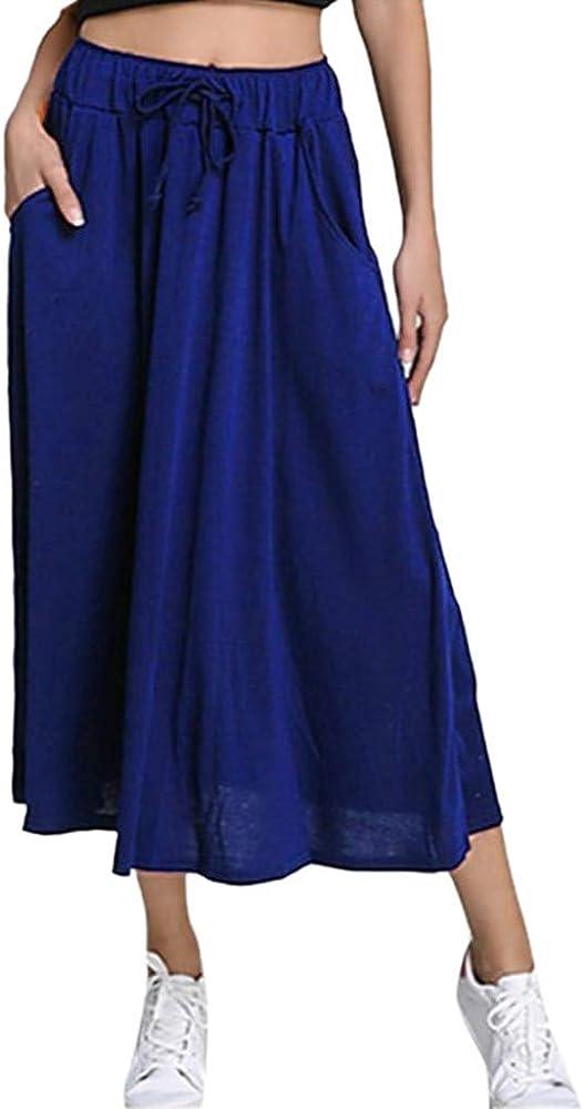 Supertong - Falda de algodón para Mujer, Estilo Bohemio, Falda ...