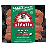 Aidells Italian Style Smoked Chicken Sausage 12 Oz (4 Pack)