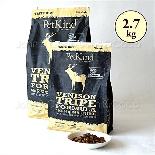 PetKind Tripe Dry Venison Tripe Formula Grain-Free Dry Dog Food 6 ()