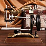 Retro European nostalgia model home sewing machine Iron crafts clothing store window props TA122613 ( Color : B )