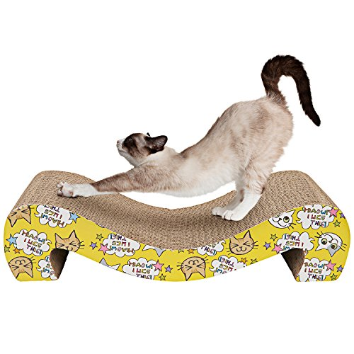 Animals Favorite Cat Scratcher Cardboard (Corrugated Scratching Pad)
