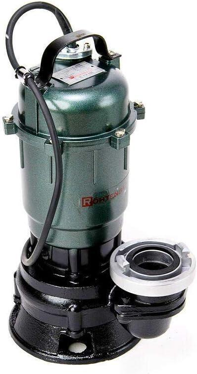 Wasserpumpe R/ÖHTENBACH Pumpe 0,55 kW F/äkalienpumpe 2 Kupplung 30m Schlauch Tauchpumpe Schmutzwasserpumpe