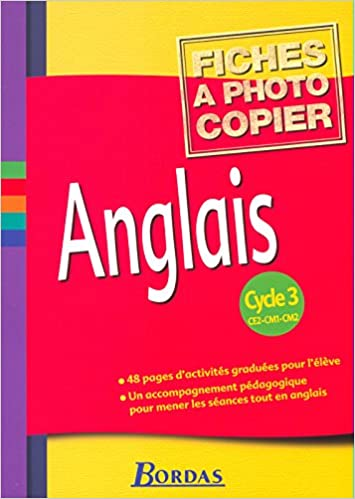 Amazon Fr Anglais Cycle 3 Ce2 Cm1 Cm2 Fiches Laurent