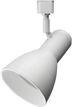 Lithonia Lighting Lthstbf Br30 Mw M4 Adjustable Decorative Led Baffle Track Head 120 Volts 100 Watts Matte White