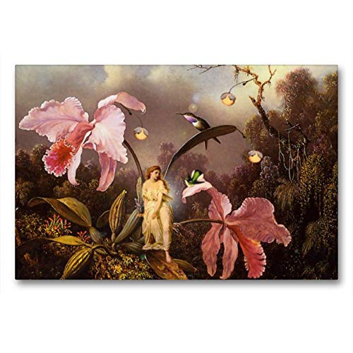Premium Textil de lienzo 45cm x 30cm marfil Horizontal Amigos, 90x60 cm por Yvonne Pfeifer