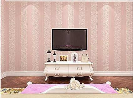 Ayzr Simple 3D Nonwoven Wallpaper Bedroom Room Living Room Wallpaper ...