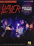 img - for Slayer - Signature Licks: A Step-by-Step Breakdown of the Guitar Styles & Techniques for Jeff Hanneman and Kerry King Book & Online Audio (Guitar Signature Licks) book / textbook / text book
