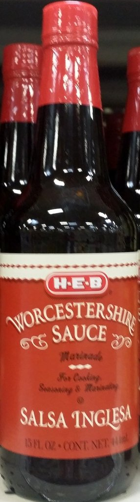 Amazon.com : HEB Worcestershire Sauce 15 Oz (Pack of 2) : Grocery & Gourmet Food