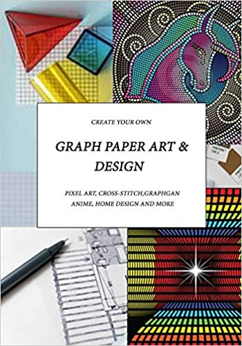 Graph Paper Art Design Create Your Own Pixel Art Cross