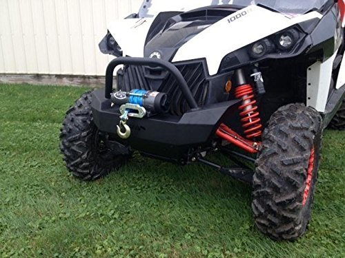 Extreme Brush Guard - 2012-2015 Can-Am Maverick and MAX Front Brush Guard with winch mount 12629 by Extreme Metal Products