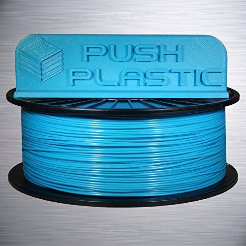 Amazon.com: Push 1,75 mm de plástico azul del océano PLA ...