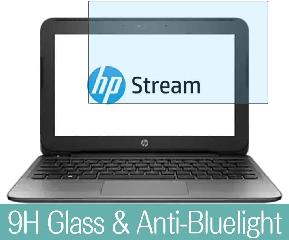 """Synvy Anti Blue Light Tempered Glass Screen Protector for HP Stream 11 Pro G2 11.6"""" Visible Area 9H Protective Screen Film Protectors"""