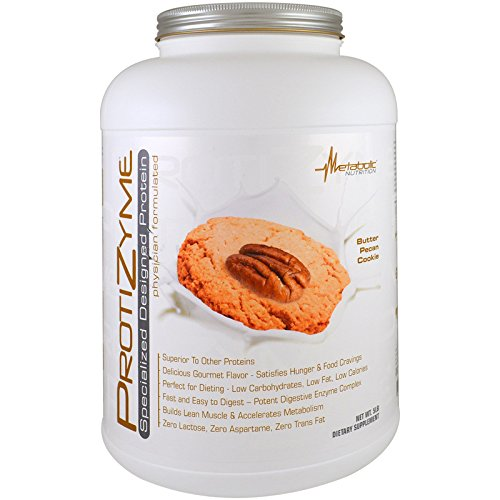 Metabolic Nutrition Protizyme Dietary Supplement, Butter Pecan Cookie, 5 Pound