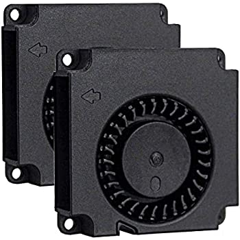 2Packs Wathai 40x40x10mm 40mm 12V Brushless Turbo Blower Centrifugal Fan 2Pin