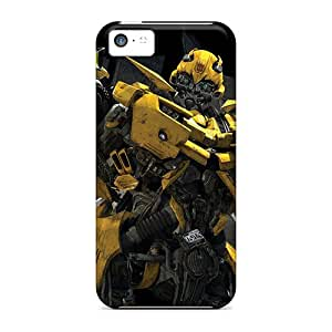 Premium Durable Transformers The Game Bumble Bee Fashion Tpu Iphone 5c Protective Case Cover