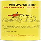 Magic Bait 24-Ounce Worm Food Can, Yellow