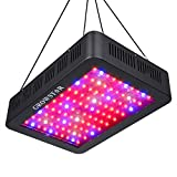 1000W LED Grow Light, Growstar Double Chips LED Grow Lamp Full Spectrum for Hydroponic Indoor Plants Flower and Veg with Daisy Chain (12-Band)