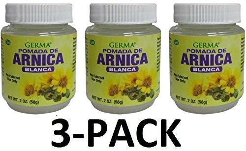 Arnica Blanca Pomada 2 oz. (58g) White Arnica Ointment. Arnica Salve 3-PACK