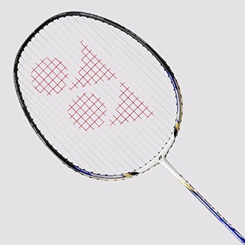 to:Yonex Nanoray 20 Badminton Racquet White/Royal Blue (Original USA Version)