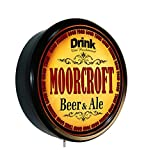MOORCROFT Beer and Ale Cerveza Lighted Wall Sign