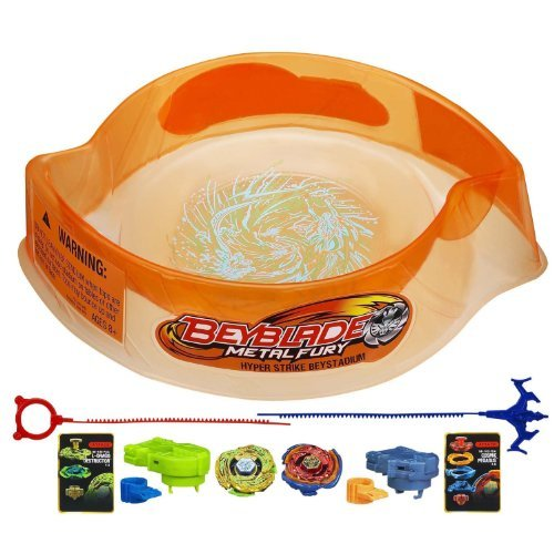 Beyblade Metal Fury Hyperblades Hyper-Strike Battle Set by Beyblade