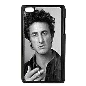 iPod Touch 4 Case Black Sean Penn Smoking Actor Celebrity FY1440693