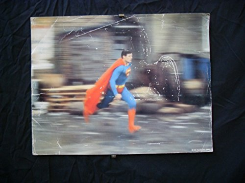 MOVIE POSTER: SUPERMAN-1978-CHRISTOPHER REEVES-11x14 COLOR LOBBY CARD FR/G