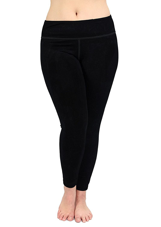 9e2d323100e6a2 Lola Getts Premium Plus Size Leggings - Women s Compression Yoga Pants -  Made In USA