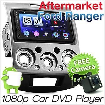 Reproductor de MP3 para Coche de 7 Pulgadas, Android Ford Ranger PJPK con USB, Unidad de Radio Estéreo MP4 y GPS: Amazon.es: Electrónica