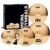Meinl Cymbals CC-141620+18 Classics Custom Bonus Pack Cymbal Box Set with FREE 18